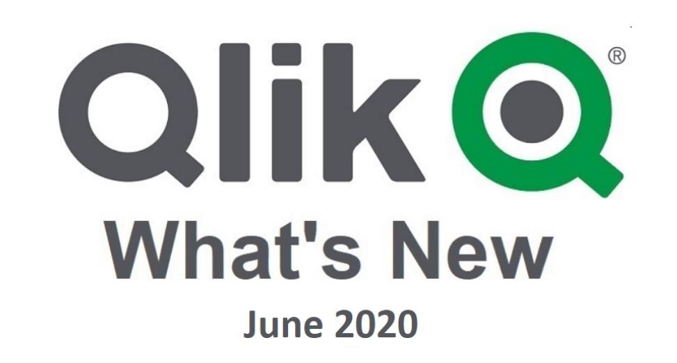 Qlik Sense Juni 2020 Whats New